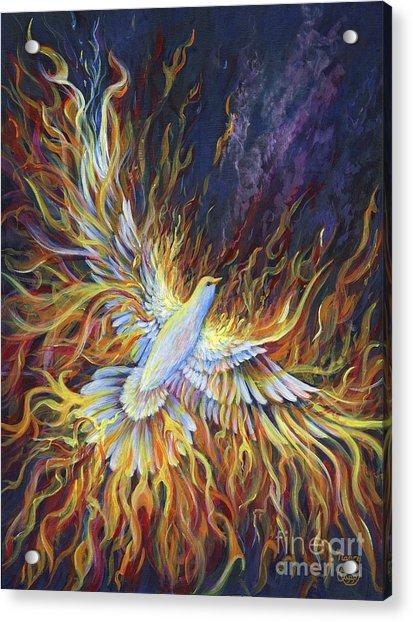 Holy Fire Acrylic Print