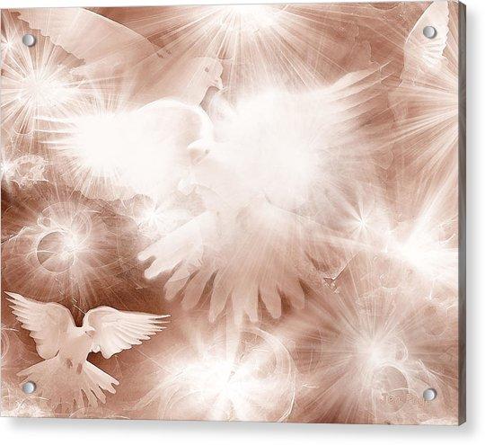 Holy Light Acrylic Print