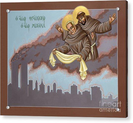 Holy Passion Bearer Mychal Judge 132 Acrylic Print