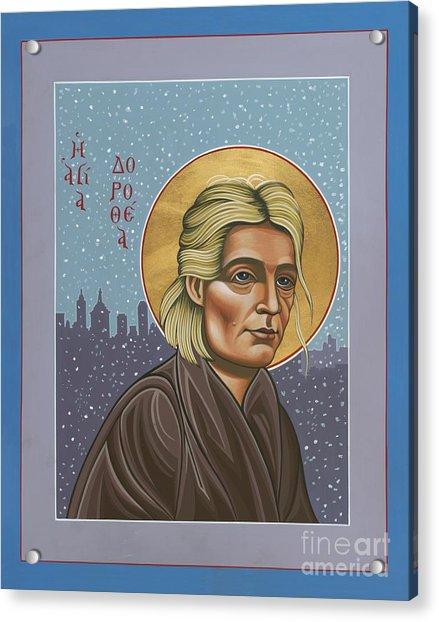 Holy Prophet Dorothy Day 154 Acrylic Print