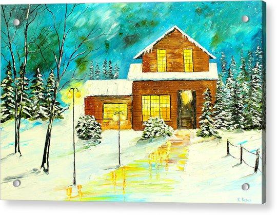 Home For Christmas Acrylic Print