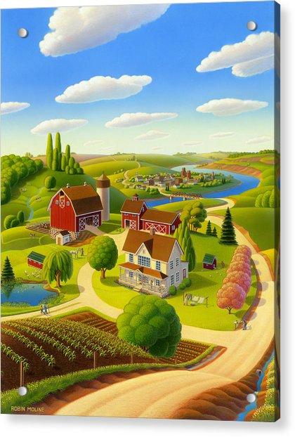 Home To Harmony Acrylic Print