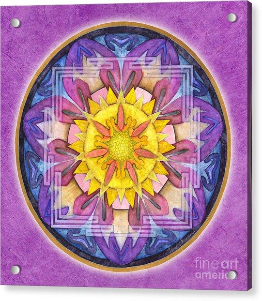 Hope Mandala Acrylic Print