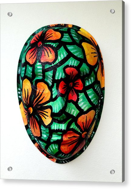 Hope On Spring Acrylic Print