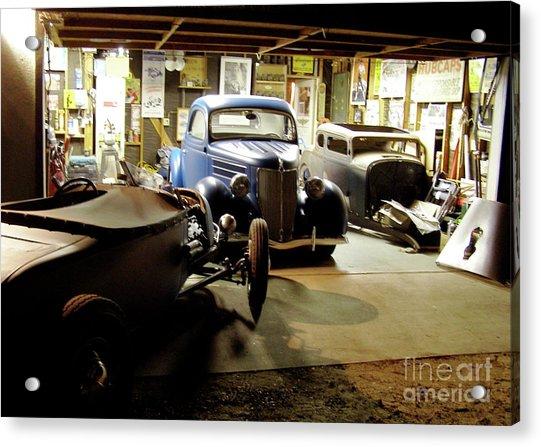 Hot Rod Garage Acrylic Print
