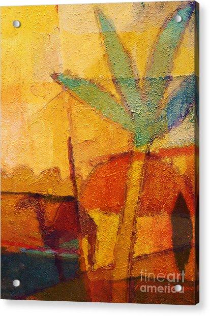 Hot Sun Acrylic Print