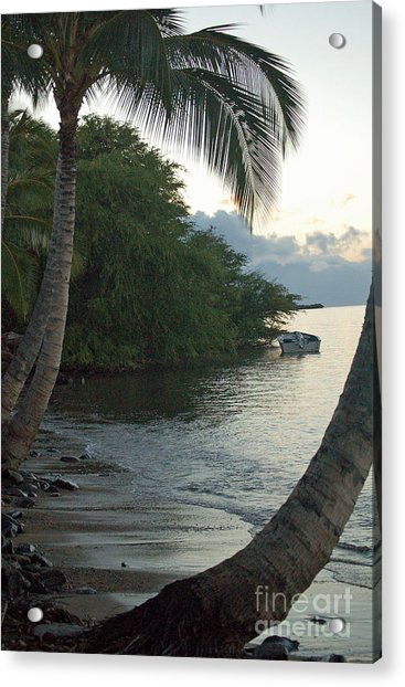 Hotel Molokai Beach Acrylic Print