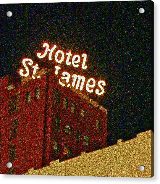 Hotel - St James San Diego Acrylic Print