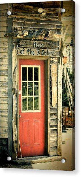 House Of The Seven Sisters Acrylic Print