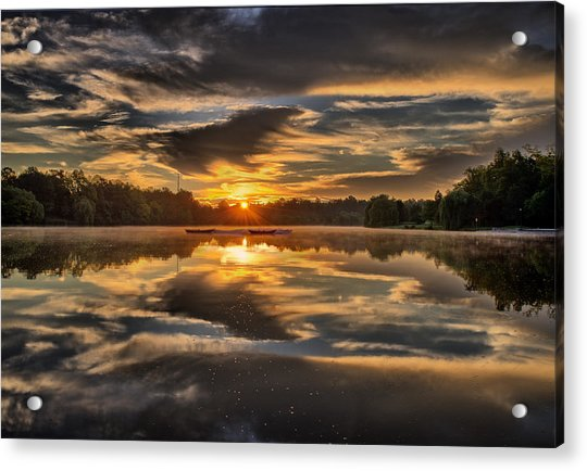 Hoyt Lake Sunrise Acrylic Print