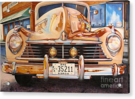 Hudson Has A Surrealistic Moment Acrylic Print