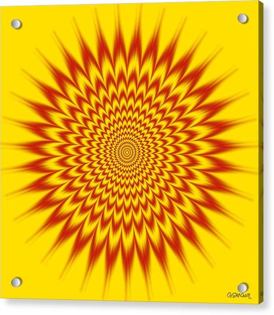 Hypnotic Vibes Acrylic Print
