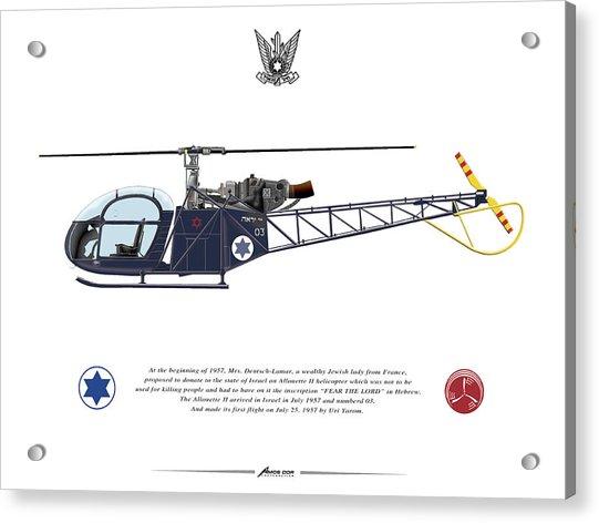 Iaf Allouette II Acrylic Print