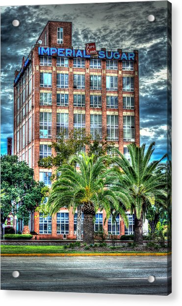 Imperial Sugar Factory Daytime Hdr Acrylic Print