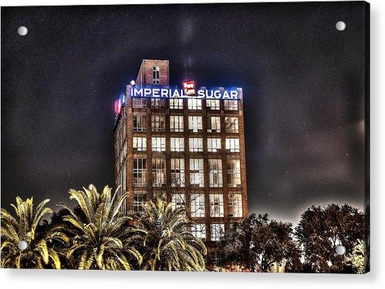 Imperial Sugar Mill Acrylic Print