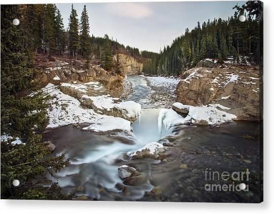 In The Frosty Forests Acrylic Print
