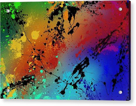 Infinite M Acrylic Print