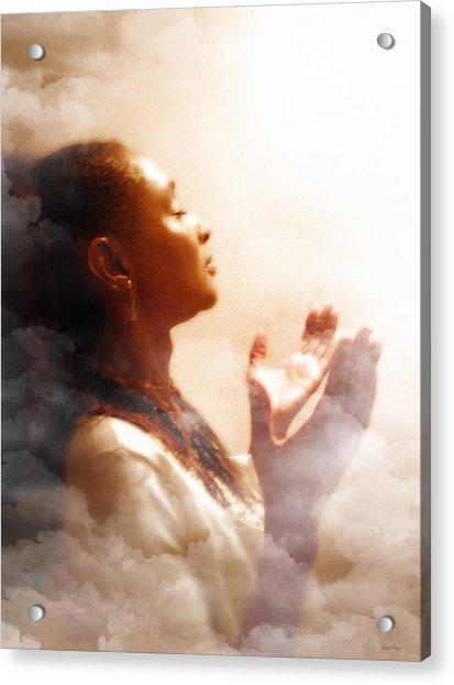 Into His Glory Acrylic Print