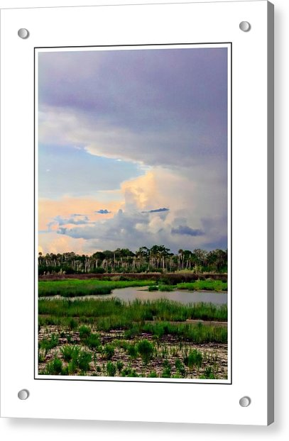 Acrylic Print featuring the photograph Intracoastal Colours by Alice Gipson
