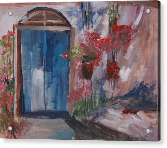 Inviting Doorway Acrylic Print