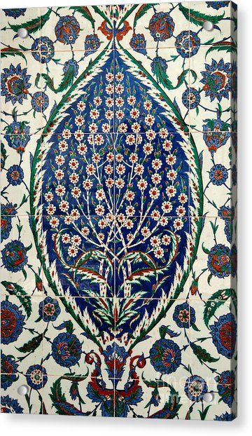 Iznik 07 Acrylic Print