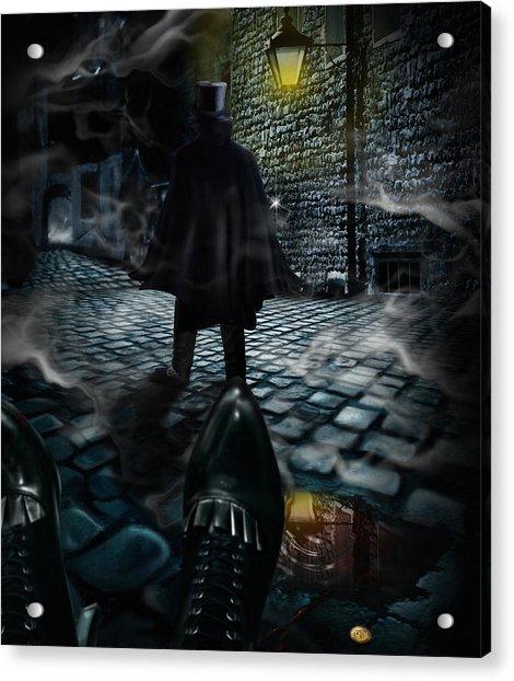 Jack The Ripper Acrylic Print