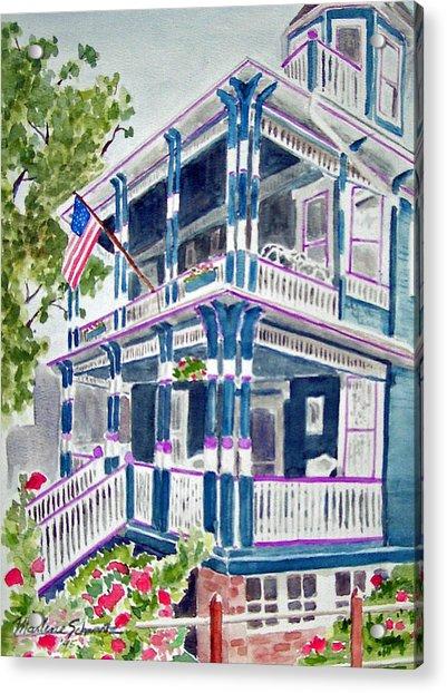 Jackson Street Inn Of Cape May Acrylic Print