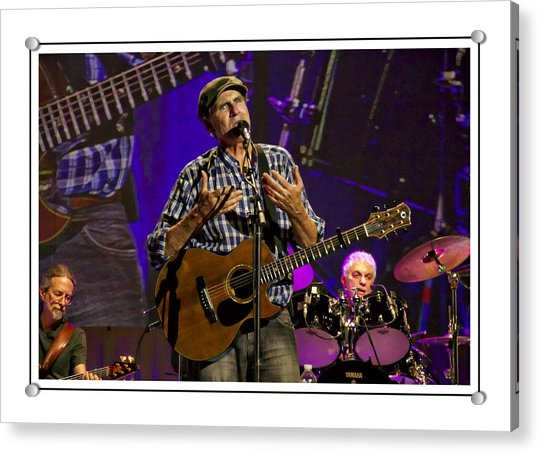 Acrylic Print featuring the photograph James Taylor Sweet by Alice Gipson