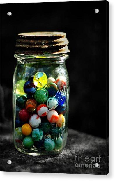 Jar Full Of Sunshine Acrylic Print