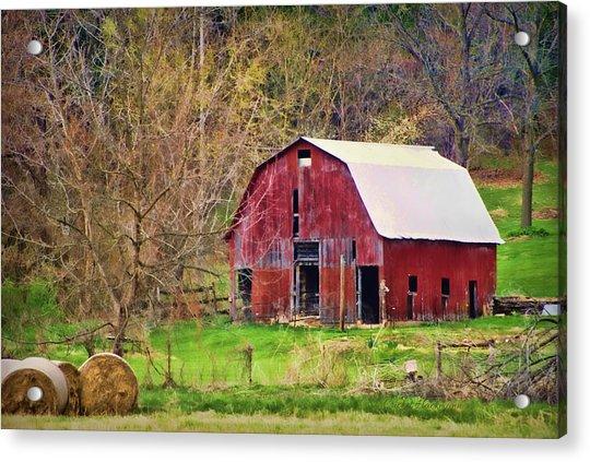 Jemerson Creek Barn Acrylic Print
