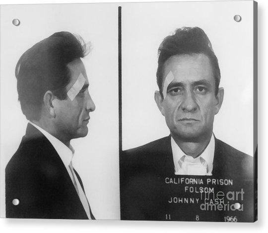 Johnny Cash Folsom Prison Canvas Print,photographic Print,art Print,framed Print,iphone Acrylic Print
