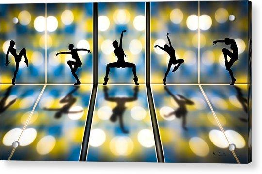 Joy Of Movement Acrylic Print