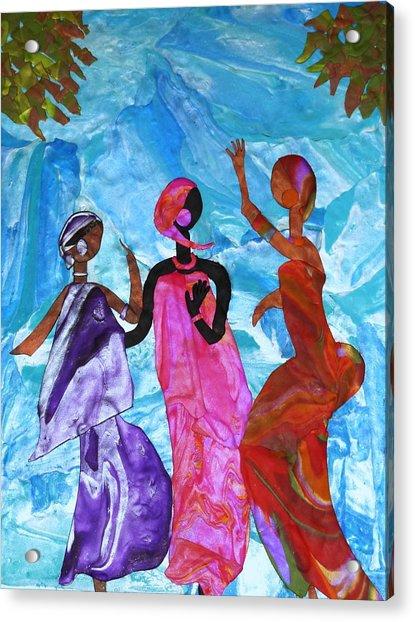 Joyful Celebration Acrylic Print