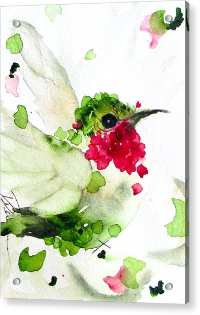 Joyful Flight Acrylic Print