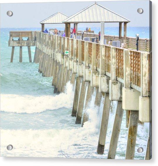 Juno Pier Acrylic Print