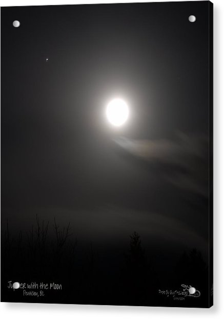 Jupiter With The Moon Acrylic Print
