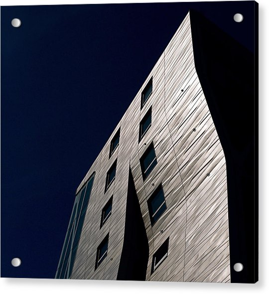 Acrylic Print featuring the photograph Just A Facade by Rona Black