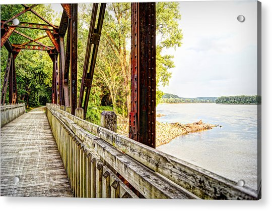 Katy Trail Near Coopers Landing Acrylic Print