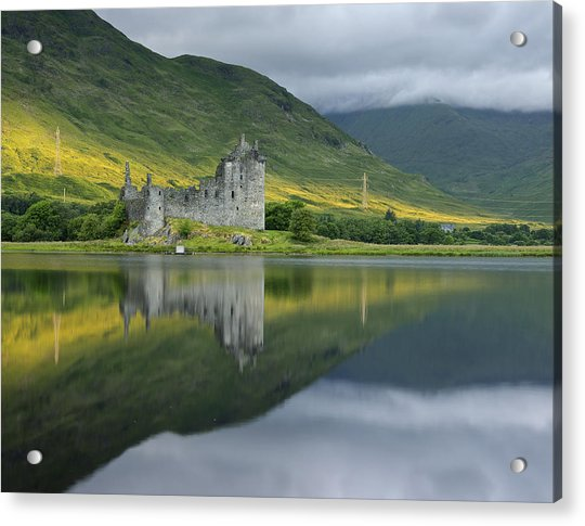 Kilchurn Castle At Sunrise Acrylic Print