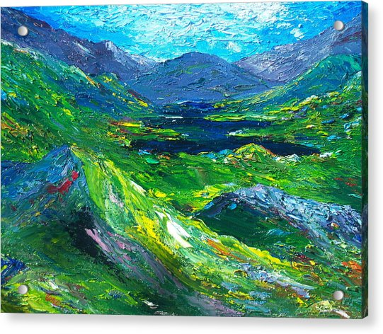 Killarney The Kingdom Of Kerry Acrylic Print