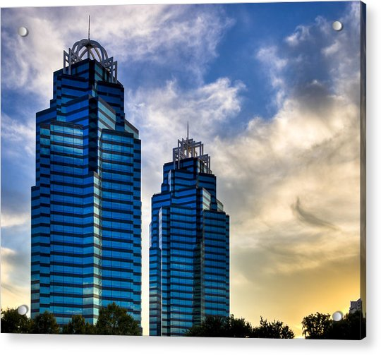 King And Queen Towers - Atlanta Acrylic Print