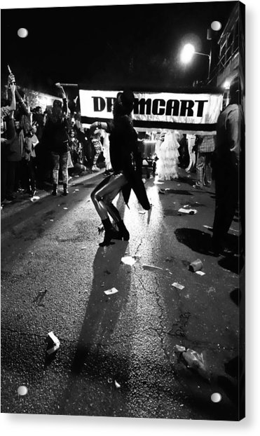 Krewe Delusion In New Orleans Acrylic Print