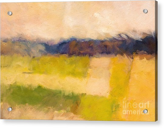 Landscape Abstract Impression Acrylic Print