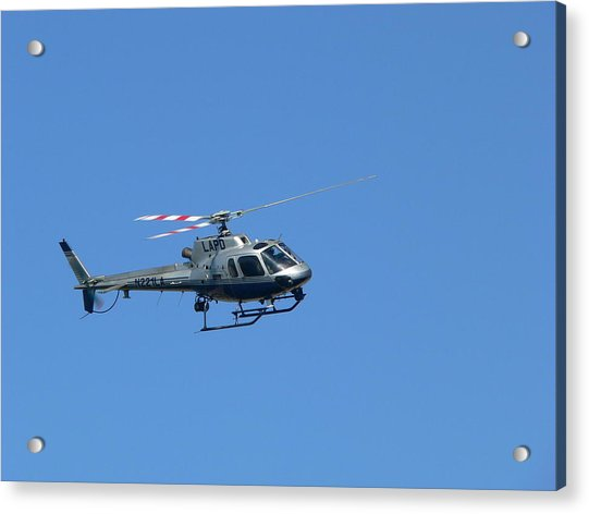 Lapd Helicopter Acrylic Print