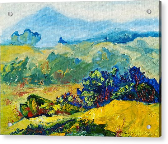 Late Summmer Landscape Acrylic Print