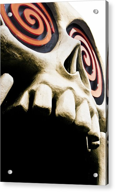 Laughing Skull - Little Five Points Acrylic Print