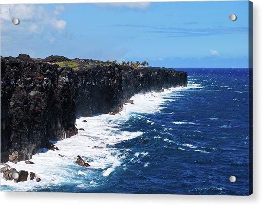 Lava Shore Acrylic Print