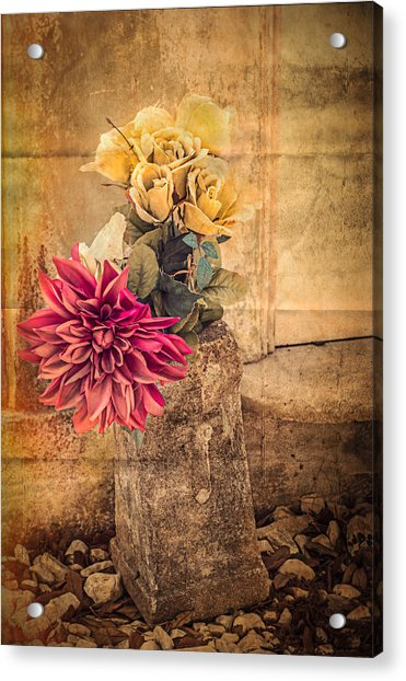 Left For A Loved One Acrylic Print