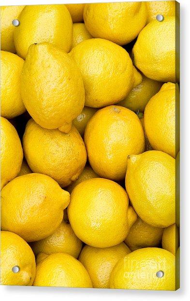 Lemons 02 Acrylic Print