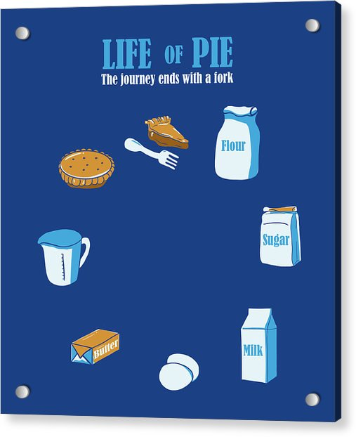 Life Of Pie Acrylic Print